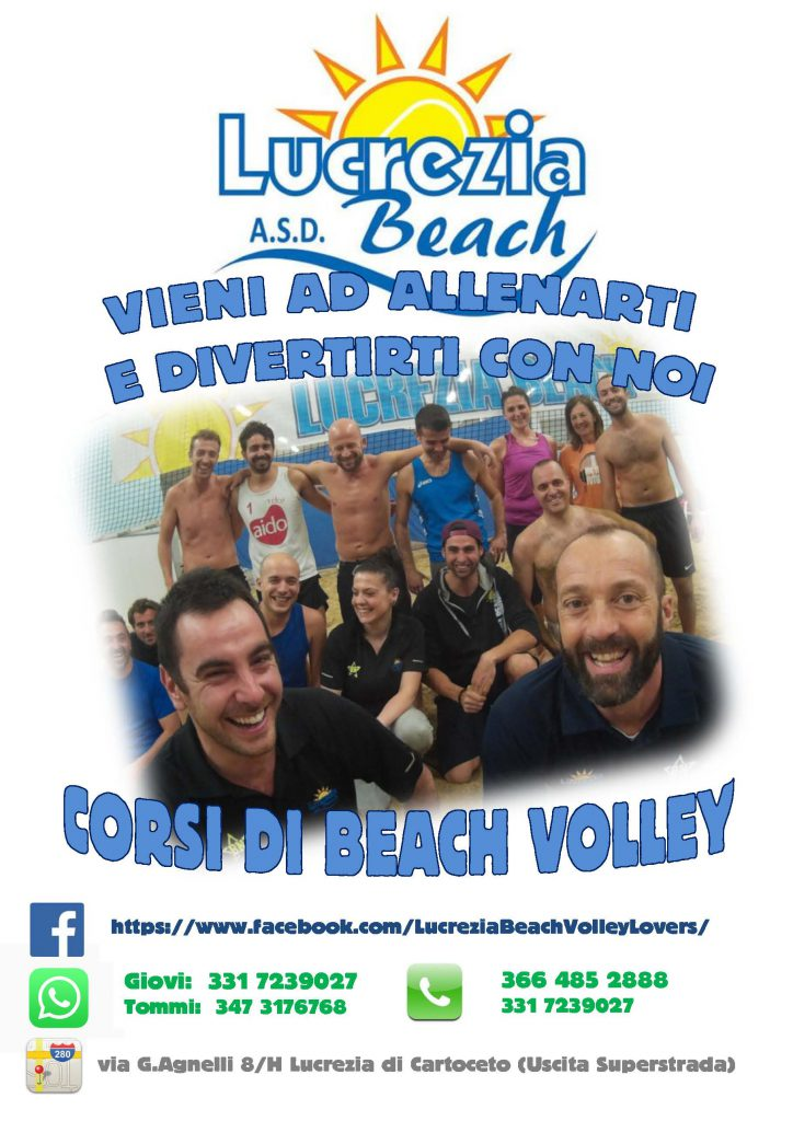 CORSI DI BEACH VOLLEY