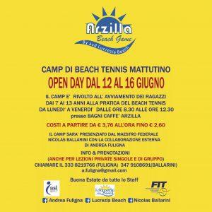 CAMP DI BEACH TENNIS MATTUTINO